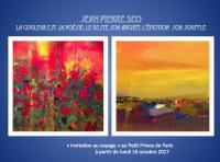 Jean Pierre SEO expose quelques unes des ses oeuvres au Petit Prince de Paris....Habituellement  l'art se regarde, au Petit Prince de Paris, il se déguste.