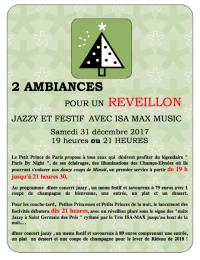 Reveillon Saint Sylvestre 2017 :