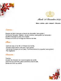 Nous vous souhaitons de très belles fêtes de Noel.