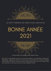 Une belle et heureuse année 2021
