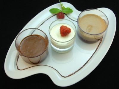 Laissez une petite place pour l'extase !  dessert 9€